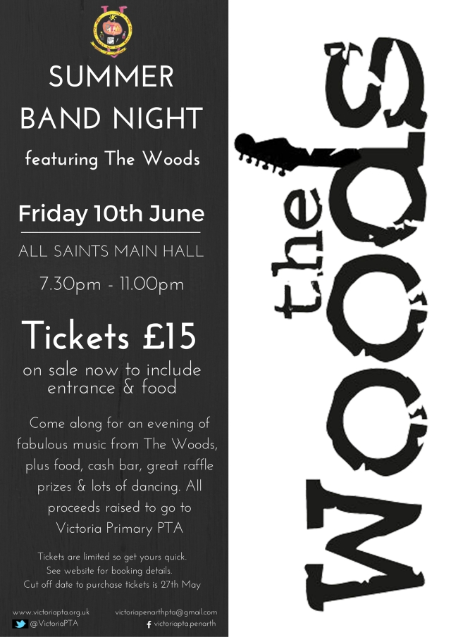 Summer Band Night Poster